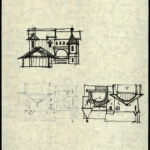 Napkins with sketches