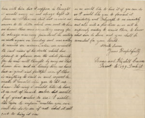 Letter from Elizabeth Carver to Edgar Knapp, 28 January 1863, pages 2-3