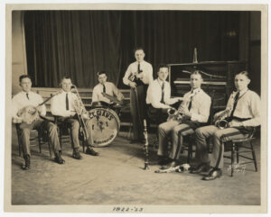 Collegians photo #1, 1922-1923, Historical Photographs Collection