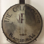 """The Collegians, VPI, Blacksburg, VA"", banjo head, c1924"