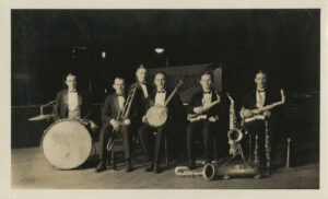 Photo of the Collegians, c1920s, Lewis A. Hall Papers, Ms1983-009