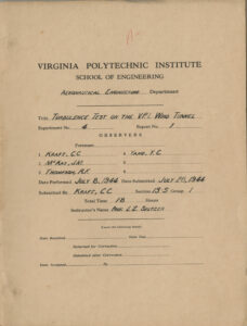 Lab Report cover, 28 July 1944