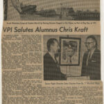 Roanoke Times article, 12 November 1965