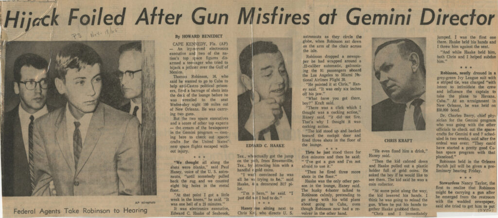 Associated Press report, 18 November 1965