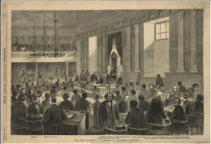 State Convention at Richmond from Frank Leslie's Illustrated Newspaper, 15 February 1868